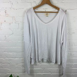 PST by Project Social T Long Sleeve Tee Top Sz XL